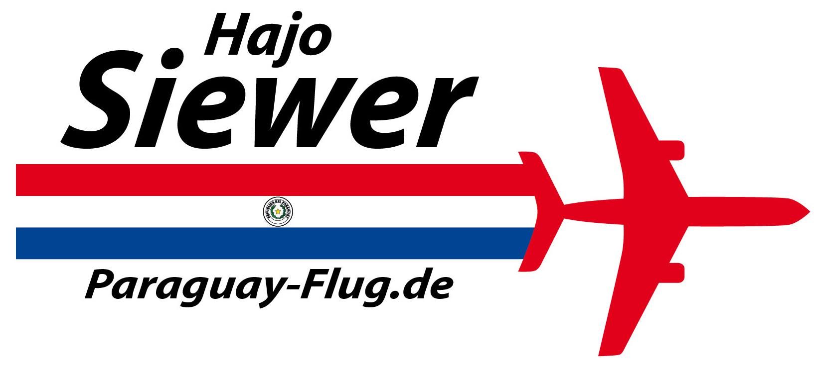 Paraguay Flug von Hajo Siewer